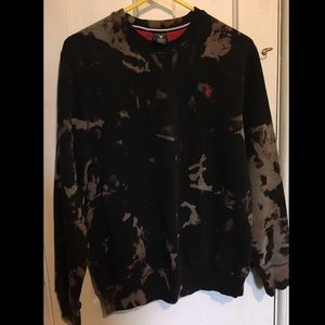 Polo bleach dye Sweater